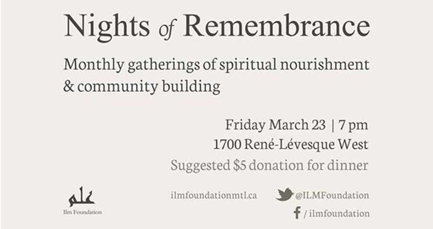 Ilm Foundation Nights of Remembrance