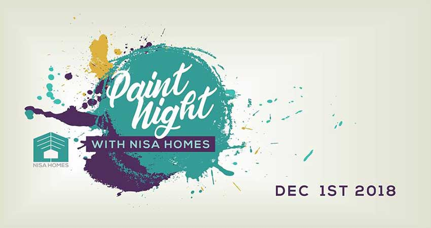 Paint Night with Nisa Homes