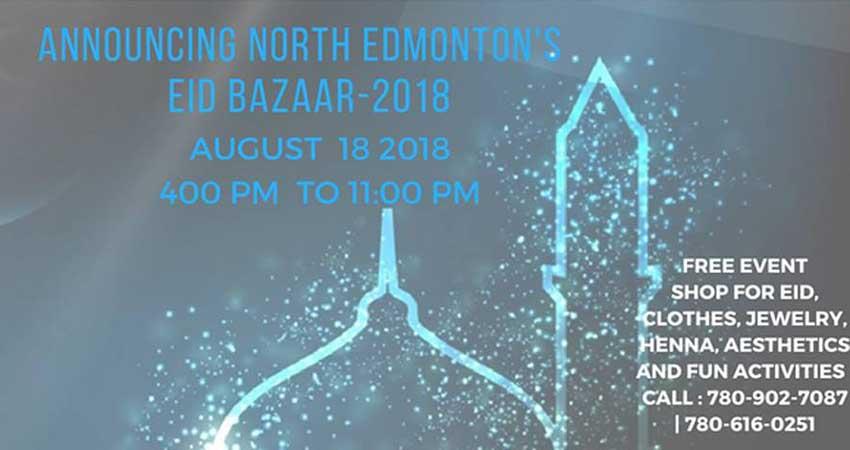 North Edmonton's Eid Bazaar 2018