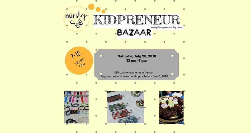 Nurshop Kidpreneur Bazaar