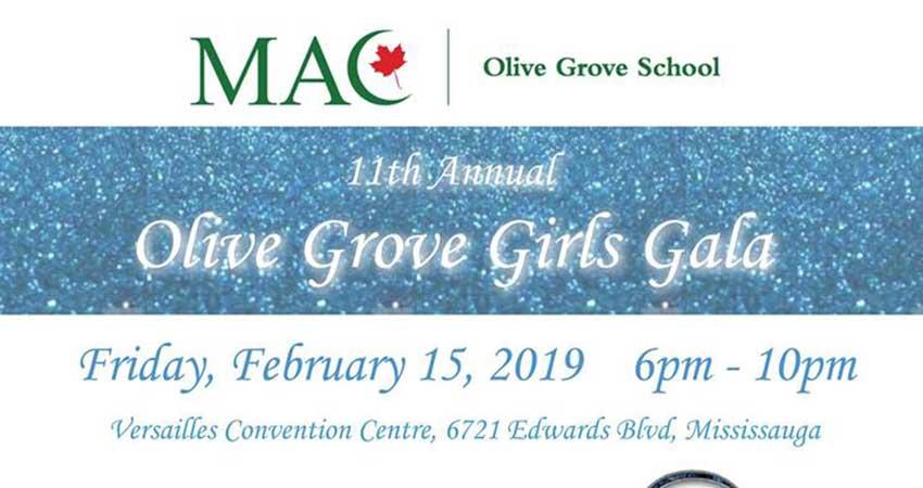 MAC Olive Grove School Girls Gala