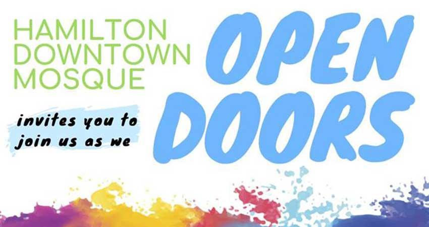 Hamilton Downtown Mosque Open Doors