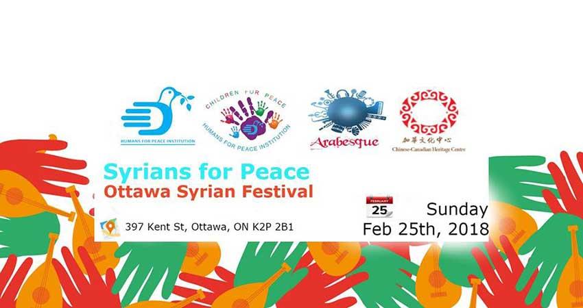 Syrians for Peace- Ottawa Syrian Festival
