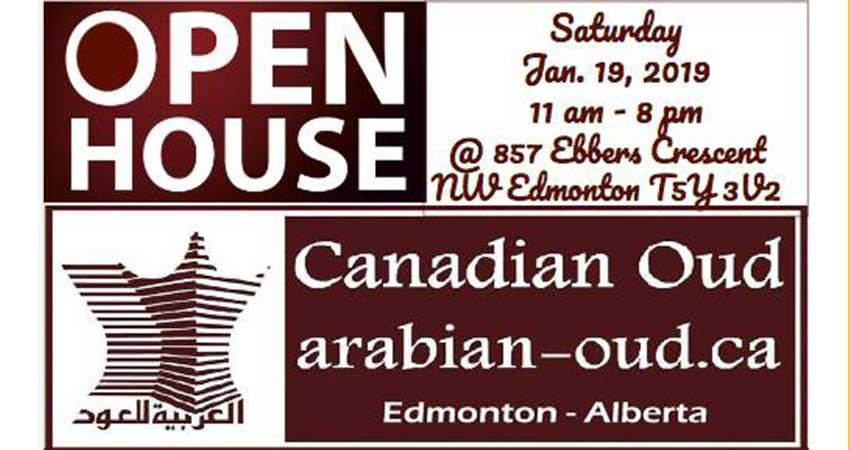 Open House - Arabian Oud Of Canada