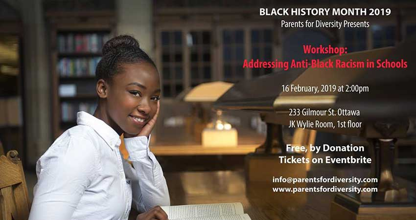 Workshop: Addressing Anti-Black Racism in Schools