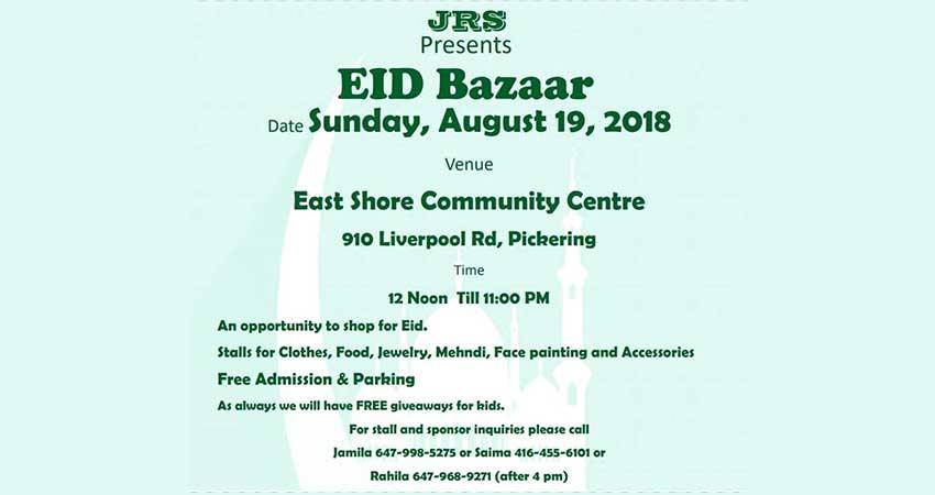 Eid Bazaar Pickering