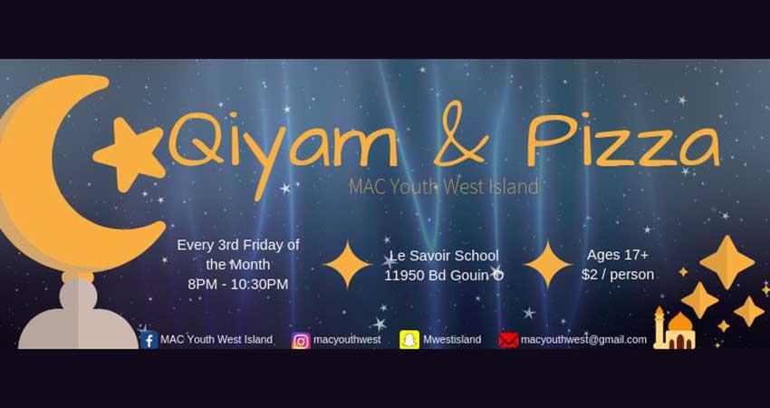 MAC Youth West Island Youth Qiyam & Pizza