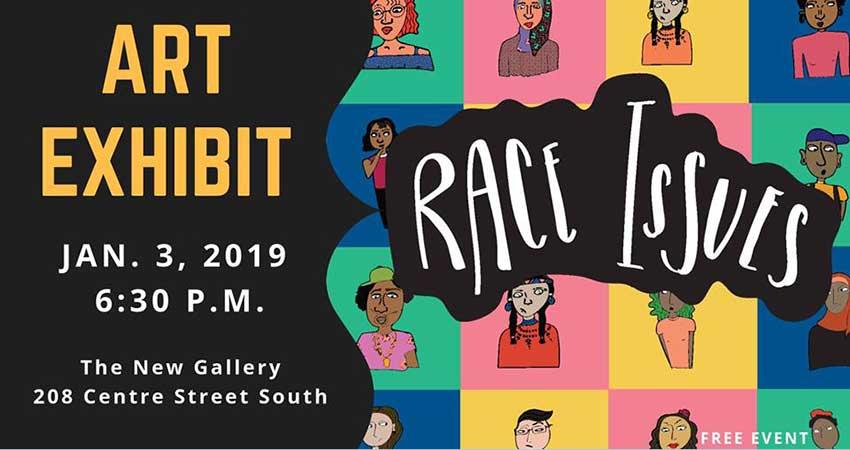 Race Issues: A Comic Series Art Exhibit with Eman Elkadri