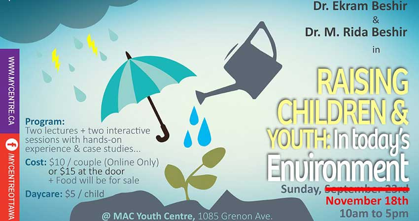 Raising Children & Youth in Today's Environment with Dr. Rida and Dr. Ekram Beshir