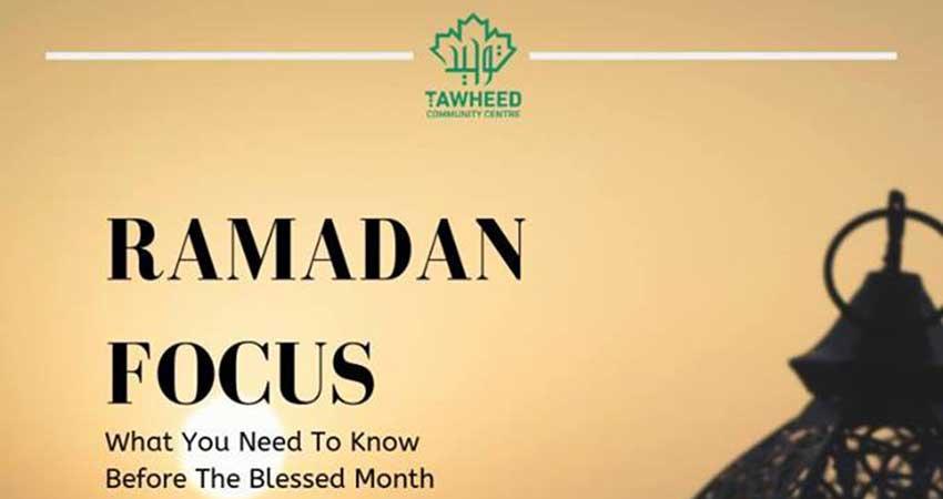 Dar Al-Tawheed Islamic Centre Ramadan Focus | Shaykh Musleh Khan & Imam Ibrahim Hindy