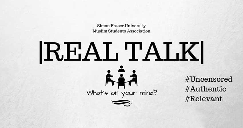 SFU MSA Real Talk: 'Good' Muslim, 'Bad' Muslim - Bridging The Gap