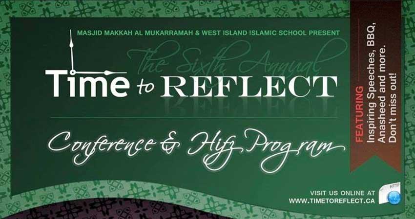Makkah-al-Mukarramah Mosque Time to Reflect Conference 2018