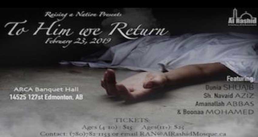 Raising a Nation Presents: To Him we Return