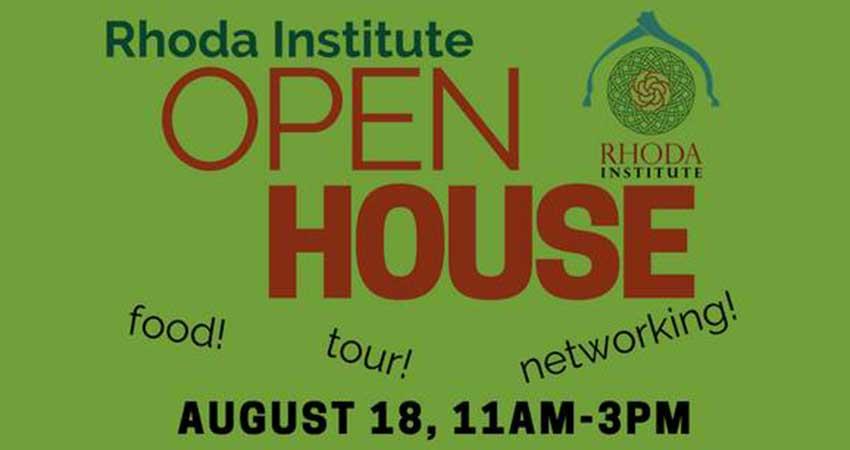 Rhoda Institute Open House