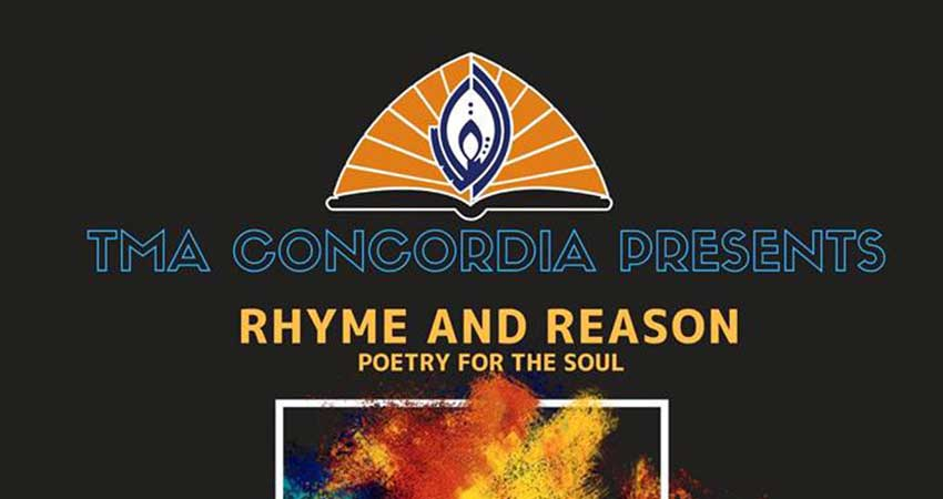 TMA Concordia Rhyme and Reason Poetry for the Soul