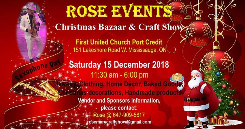 Rose Christmas Bazaar & Craft Show