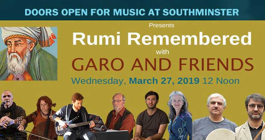 Rumi Remembered with Garo and Friends