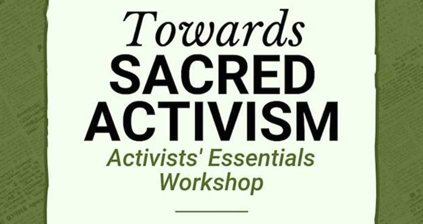 Towards Sacred Activism with Imam Dawud Walid