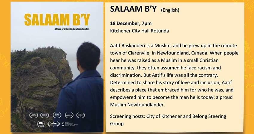 Documentary Screening: Salaam B'y - A Story of a Muslim Newfoundlander