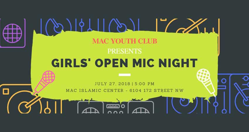 MAC Youth Club A Sister's Voice Girls Open Mic Night