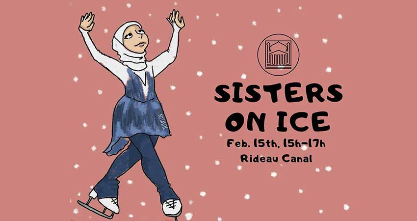UOMSA - uOttawa Muslim Students Association Sisters on Ice