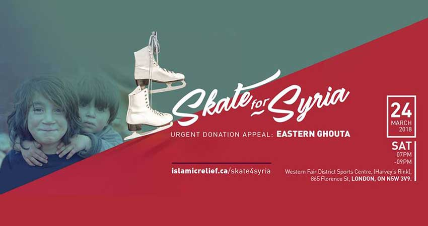 Islamic Relief Canada Skate 4 Syria — London