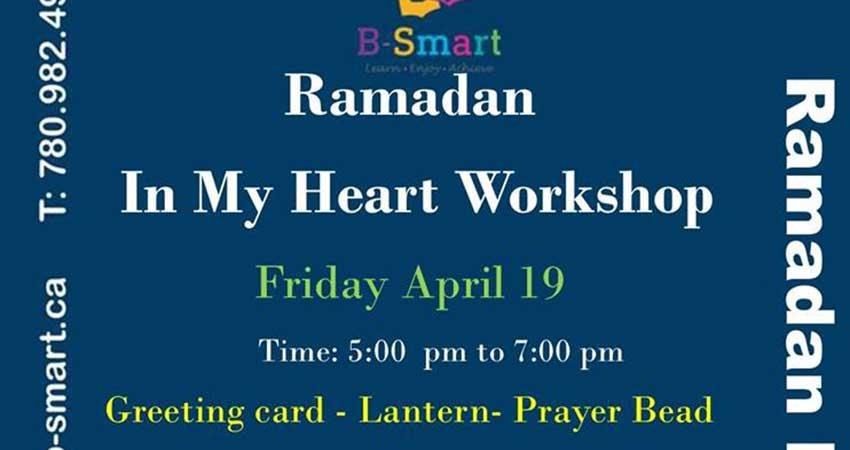 B-Smart Learning Center Ramadan In My Heart Workshop