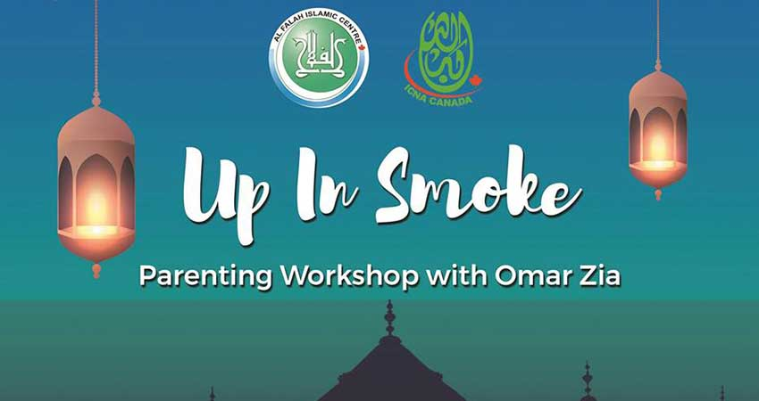 Al Falah Islamic Centre Up in Smoke
