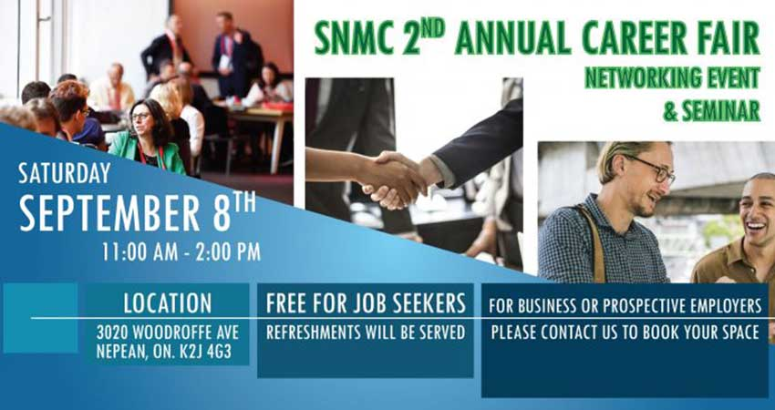 SNMC 2nd Annual Career Fair/Networking Event and Seminar