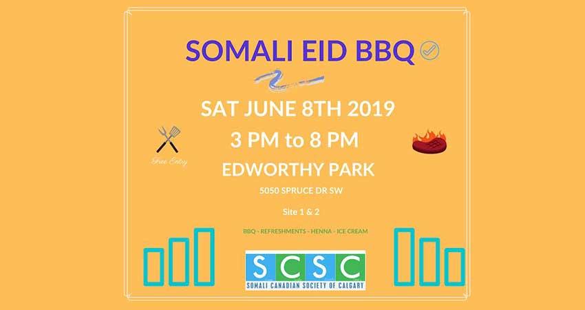 Somali Community of Calgary Somali Eid BBQ