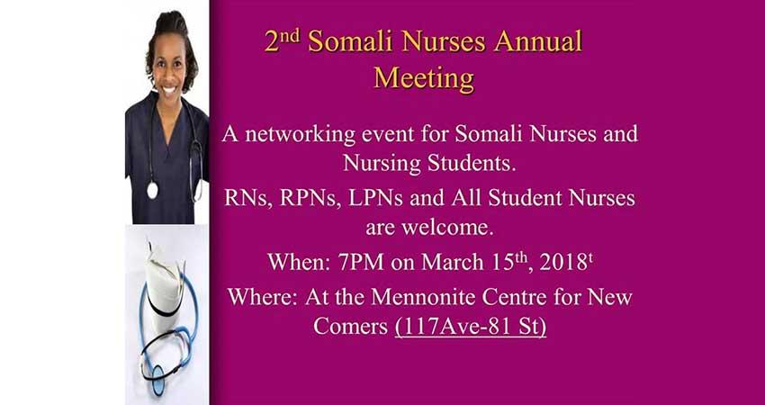 Annual Somali Nurses Networking Event