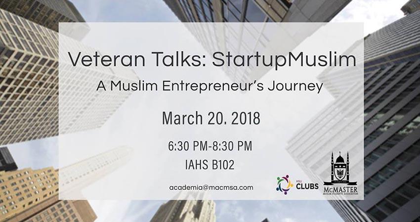 Veteran Talks: Startup Muslim