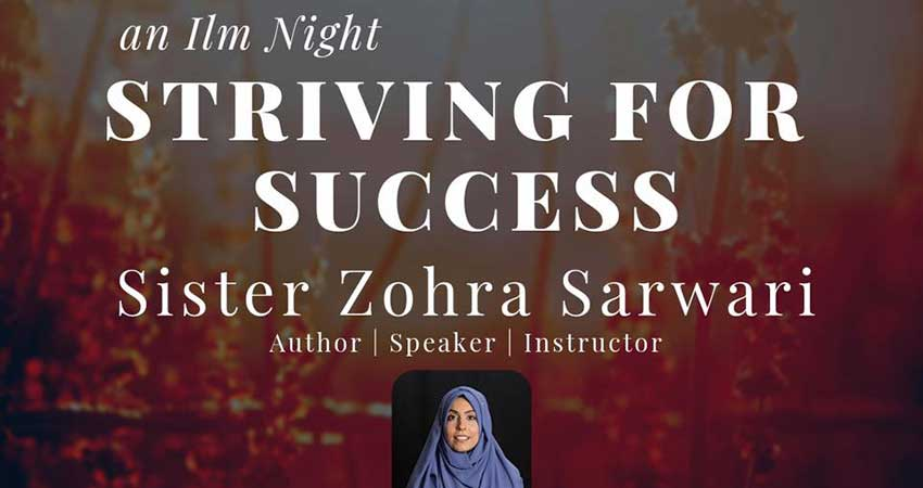 Islamic Institute of Toronto (IIT) with Sister Zohra Sarwari