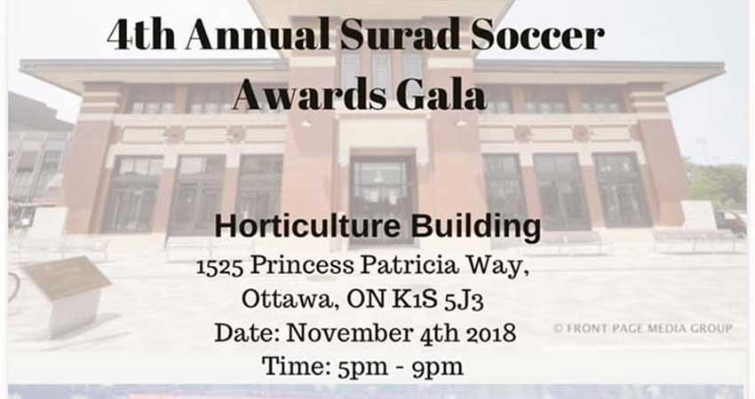 Annual Surad Soccer Awards Gala