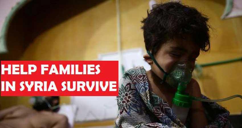 Human Concern International Emergency Fundraiser for Ghouta, Syria