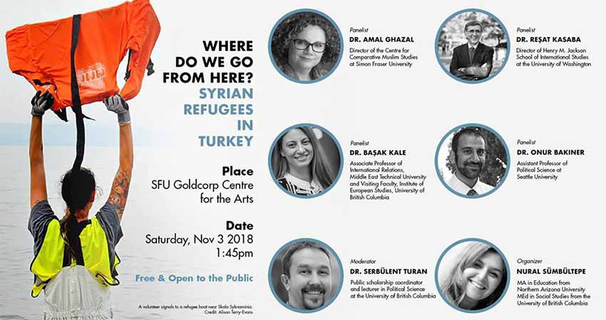 Vancouver Turkish Film Festival Panel Discussion | Syrian Refugees In Turkey
