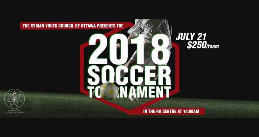 Syrian Youth Council of Ottawa 2018 Soccer Tournament
