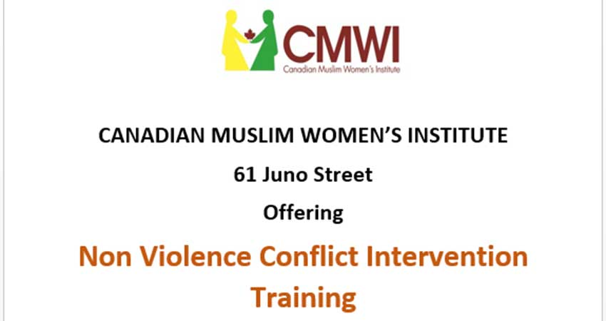 Canadian Muslim Women's Institute Emergency First Aid CPR Training