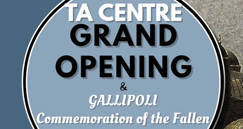 Turkish Assembly Centre Grand Opening and and Gallipoli Commemoration