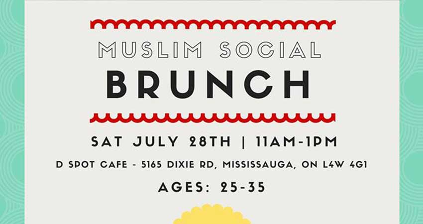 Muslim Social Brunch (Ages: 25-35)