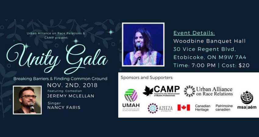 Unity Gala 2018 - Featuring Jeremy McLellan