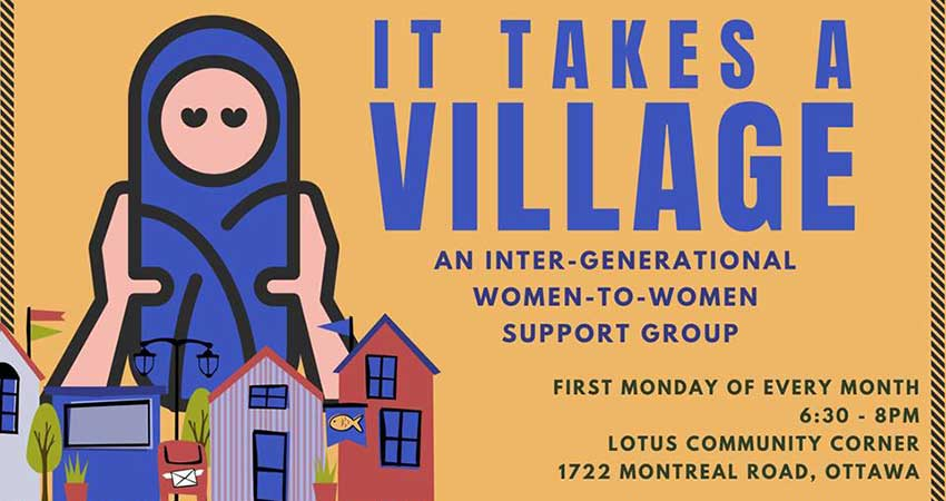 Lotus Community Corner It Takes a Village: Women to Women Support Group