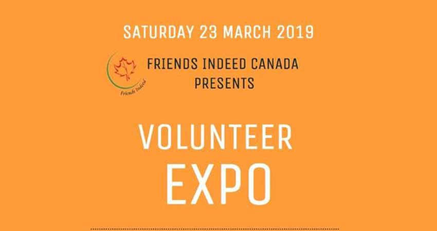 Friends Indeed Canada Volunteer Expo with Sheikh Hasan