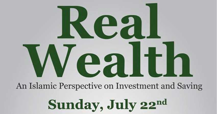 Real Wealth: An Islamic Perspective on Investing and Saving with Joe Bradford