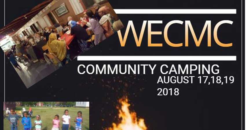 Winnipeg Ethio-Canadian Muslim Community WECMC Camp
