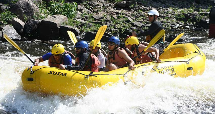 Epic Adventures White Water Rafting