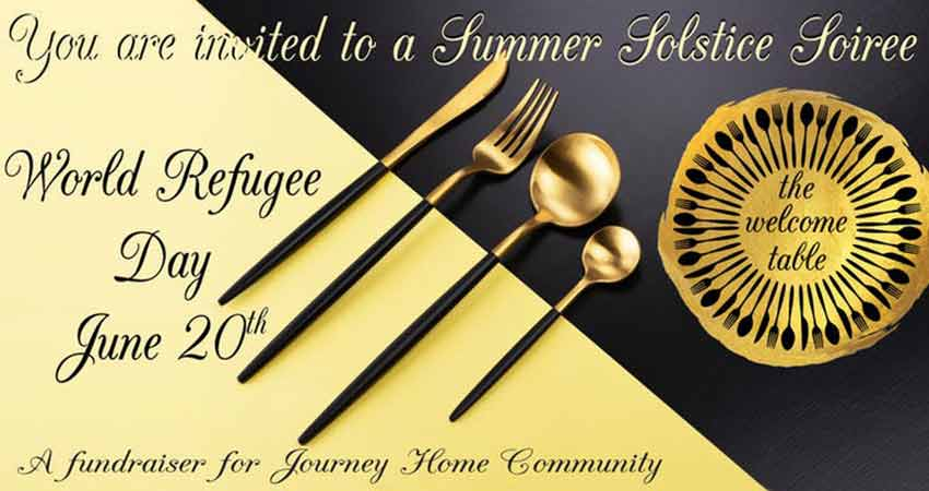 Journey Home Community World Refugee Day The Welcome Table - A Summer Solstice Soiree with Afghan Canadian Mohammad Moheq