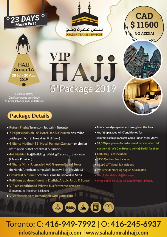 Abadir Travel Hajj Package 2 001