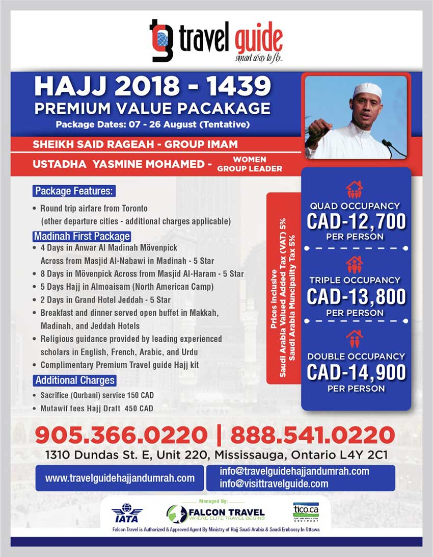 Travel Guide Hajj Package Canada