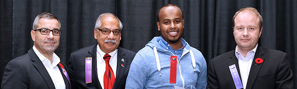Mohamed Islam wins Crime Prevention Ottawa's 2013 Youth Worker Award